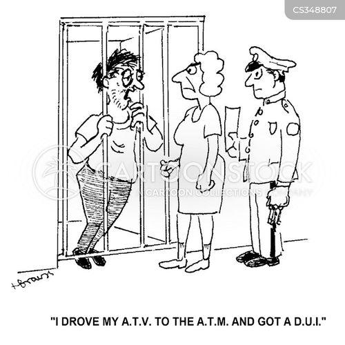 driving under influence cartoon