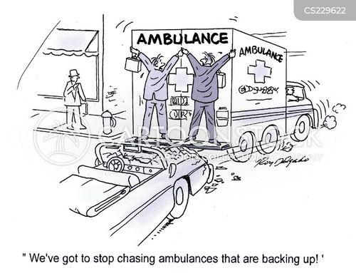 emergency vehicle cartoon