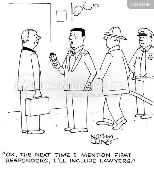 first responders cartoon