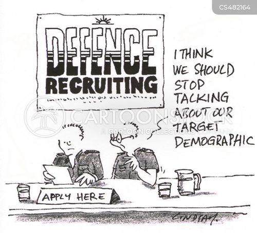 recruiting sergeant cartoon
