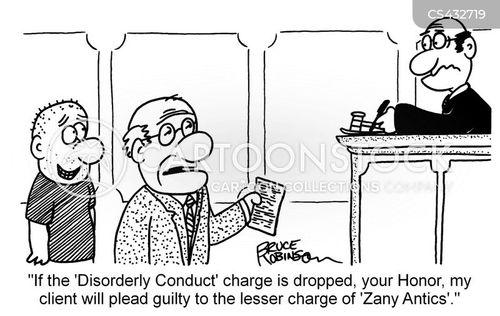 disorderly cartoon
