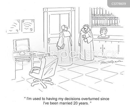 domineering wife cartoon