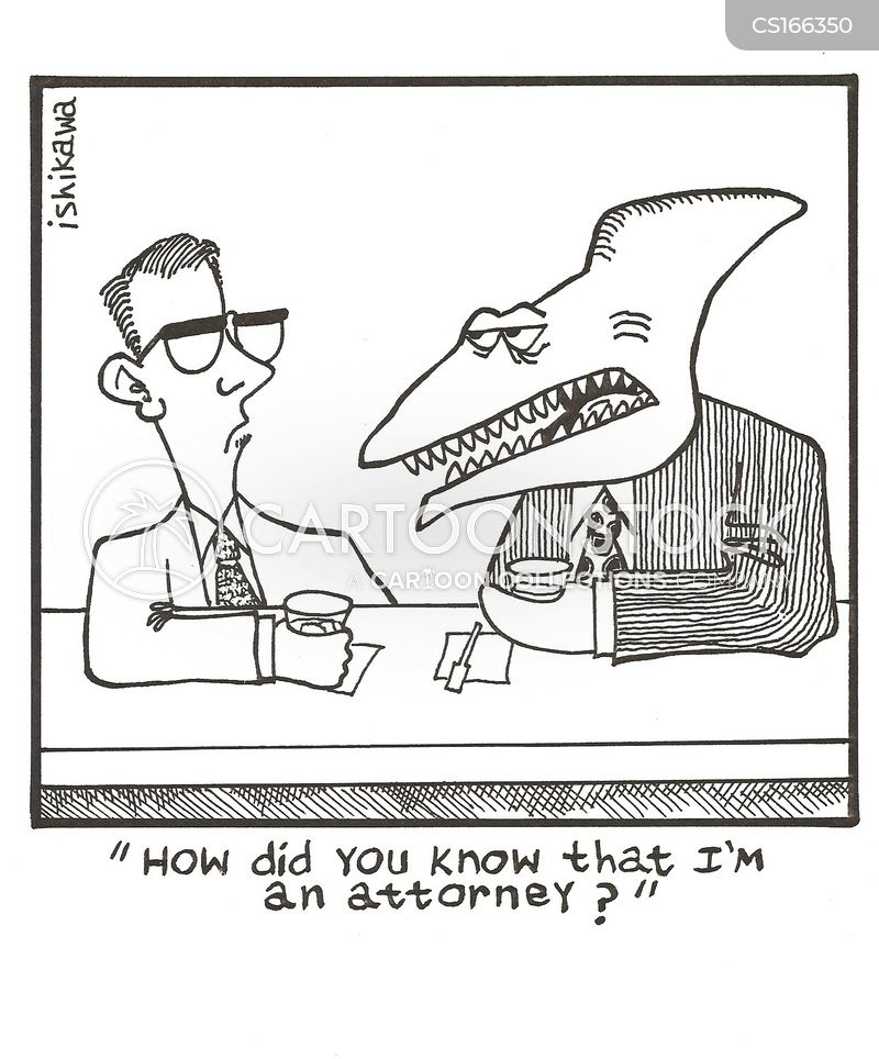 law firms cartoon