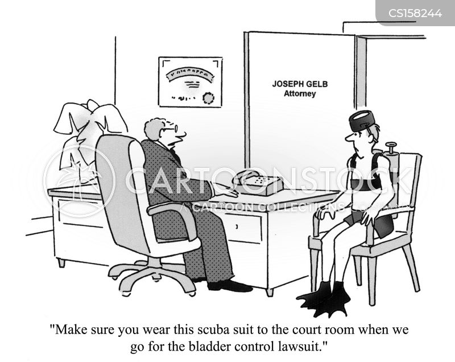bladder control cartoon