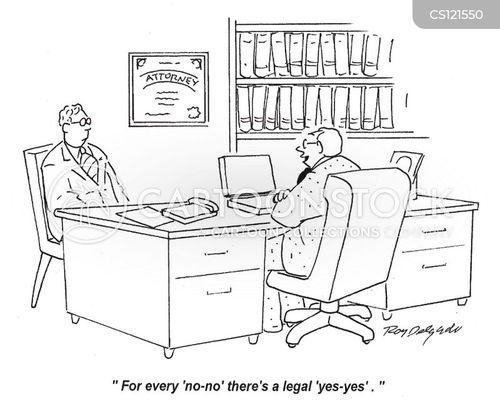 legal loopholes cartoon