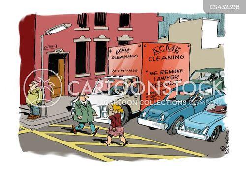 cleaning companies cartoon
