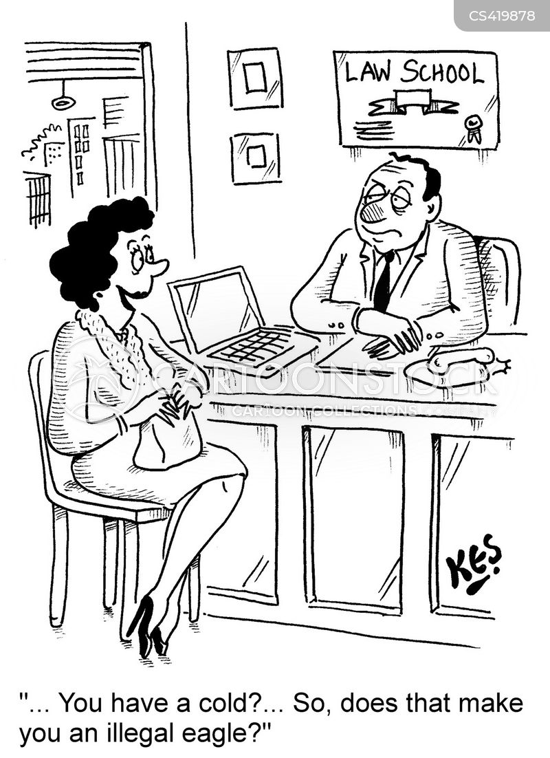 legal counsels cartoon