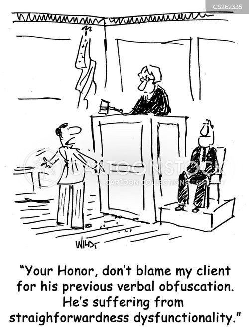 plain speaking cartoon