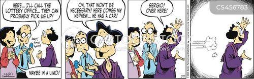 victimising cartoon