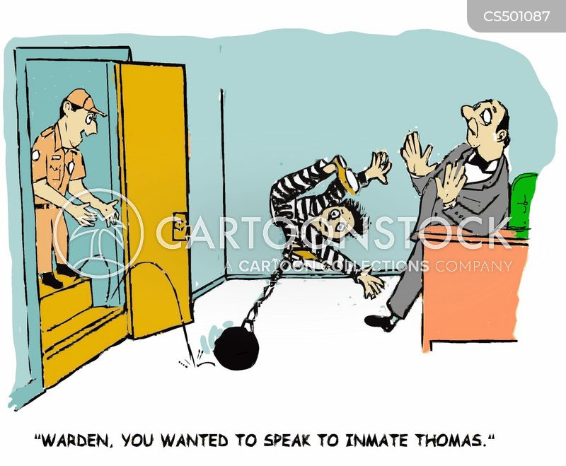 prison wardens cartoon