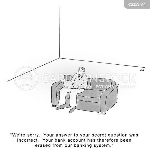 log out cartoon