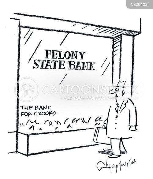 state bank cartoon