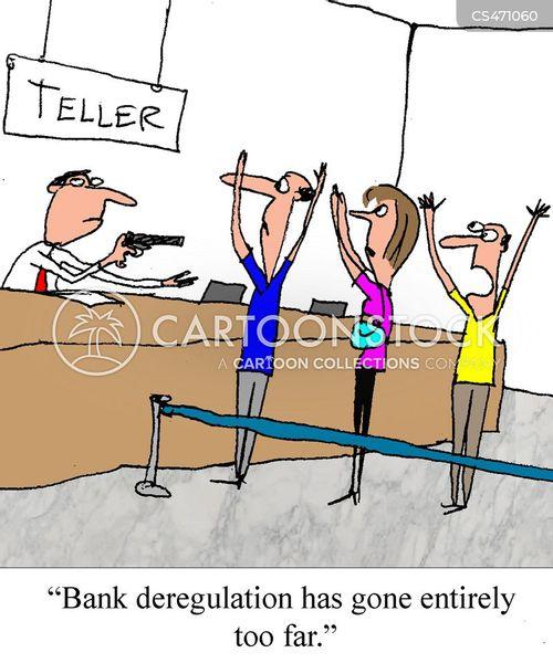 Bank Deposits Cartoons And Comics