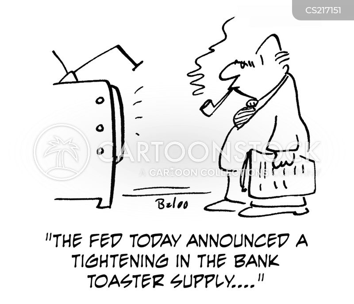 bank toaster cartoon
