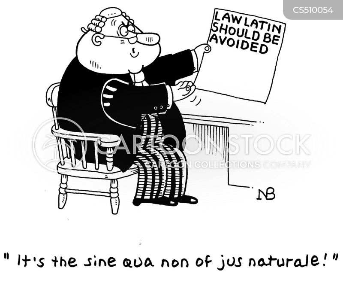 legal terms cartoon