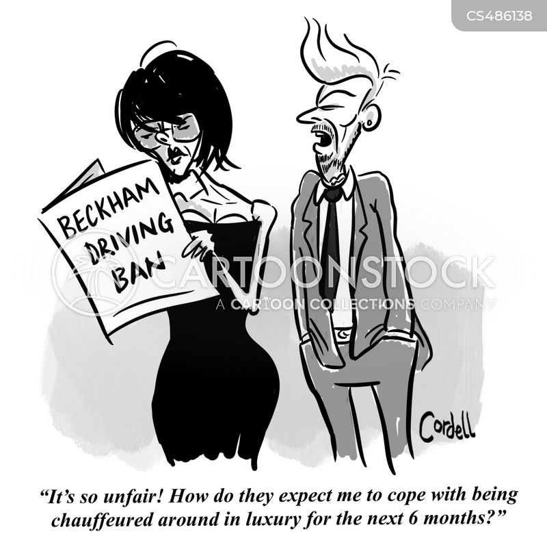 beckham cartoon