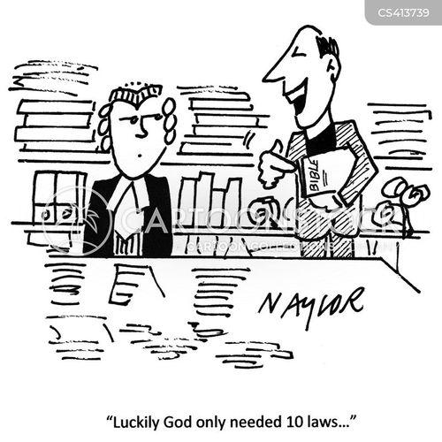 holy texts cartoon