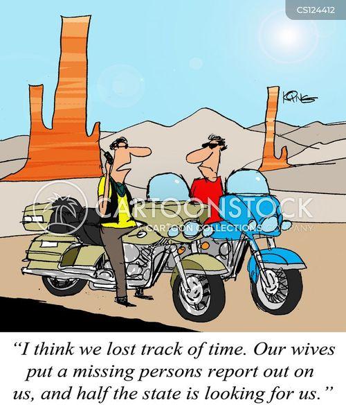 open road cartoon