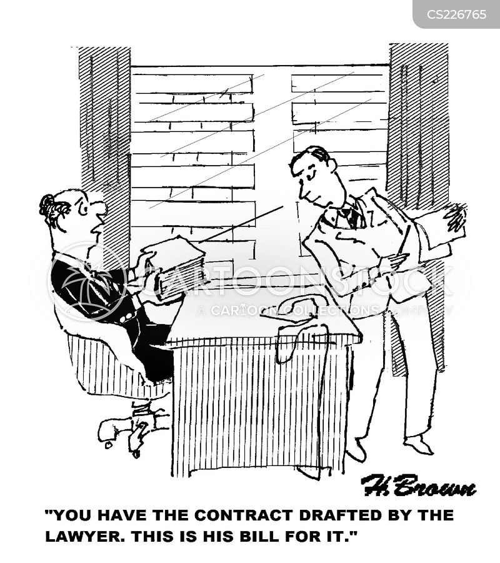 legal office cartoon