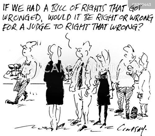 wronged cartoon