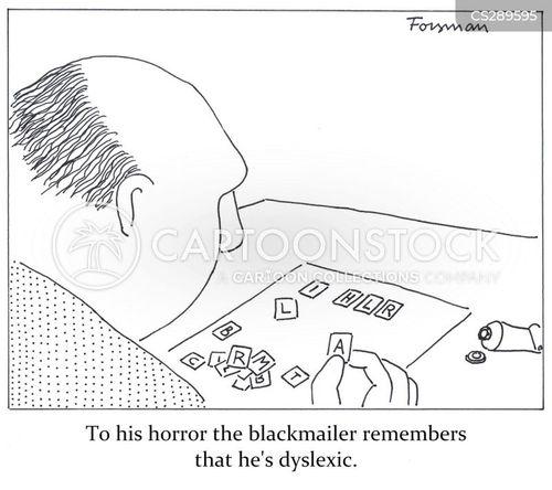 extortionists cartoon