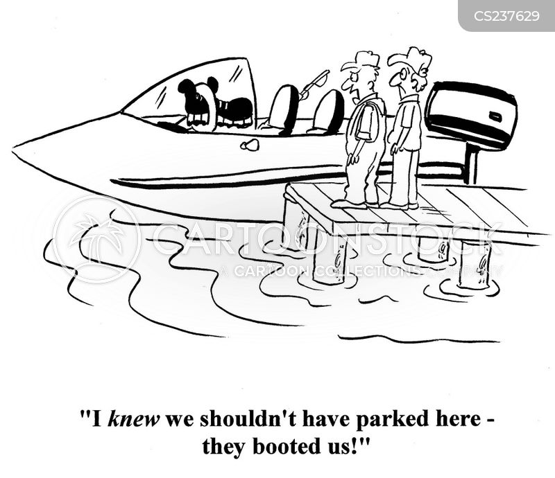 boaters rules cartoon
