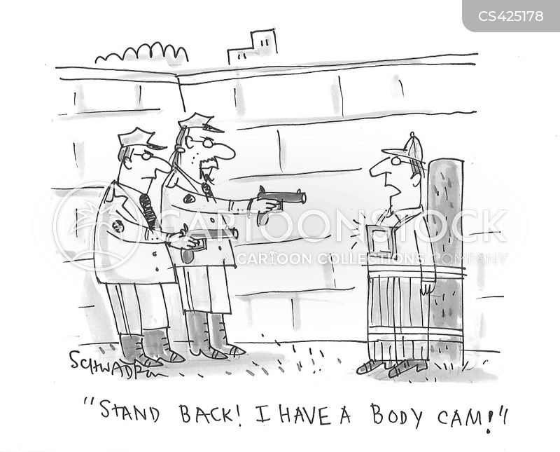 body cameras cartoon