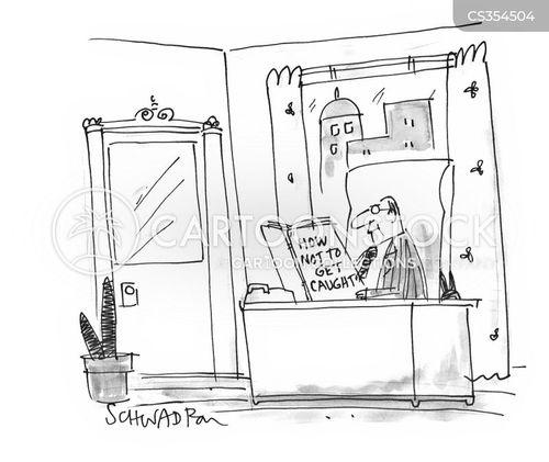 perfect crimes cartoon