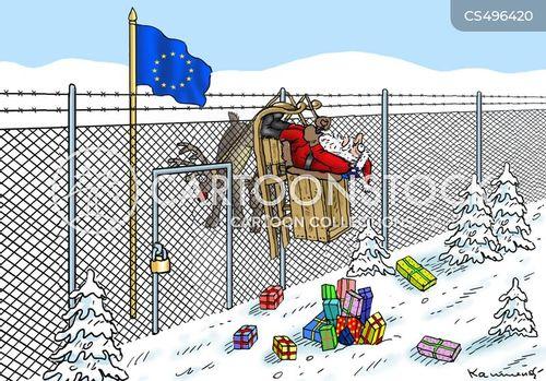 eu borders cartoon