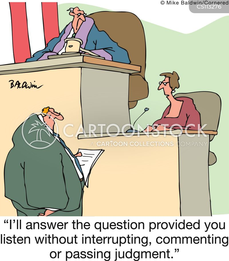 cross-examinations cartoon