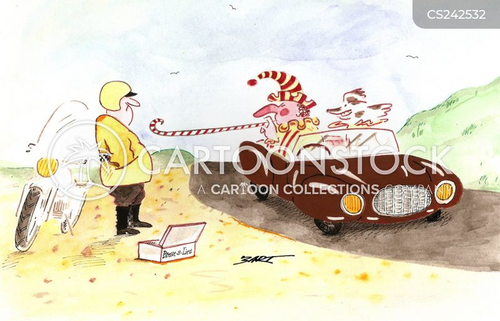 breathalyser cartoon