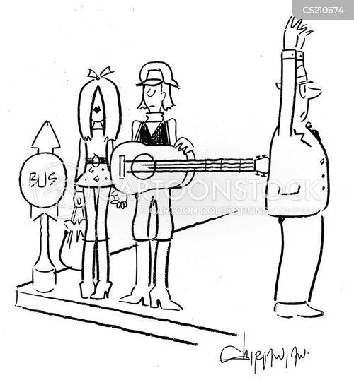 getting mugged cartoon