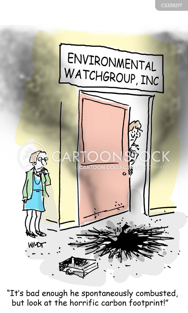 environmental watchgroup cartoon