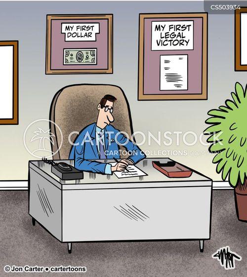 legal victories cartoon