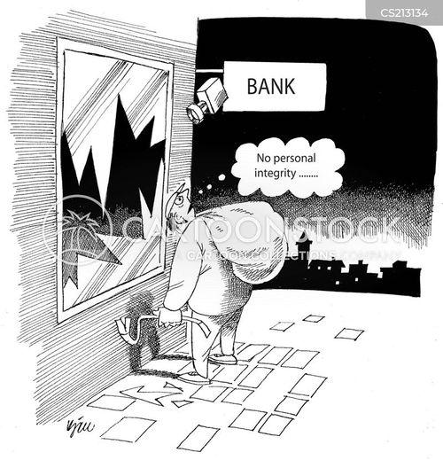 personal integrity cartoon