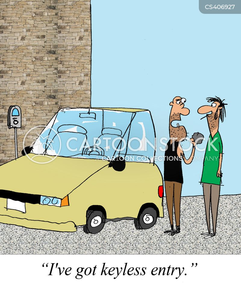 car jackers cartoon