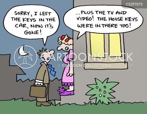 arguement cartoon