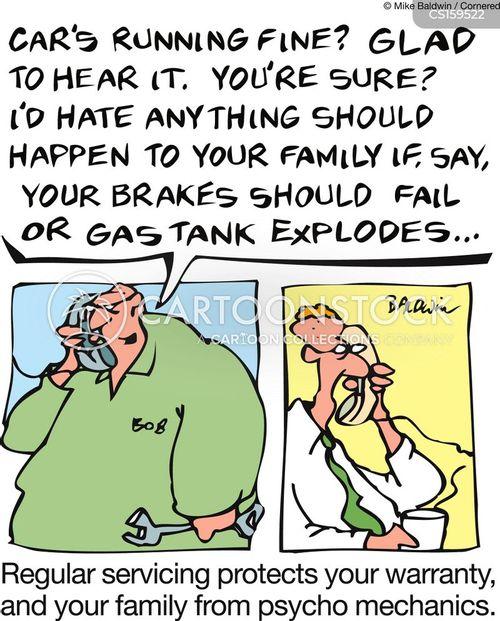 car store cartoon