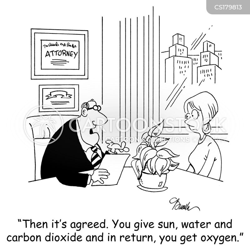 legal agreement cartoon