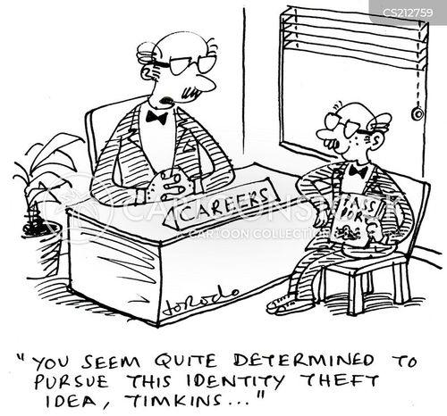 criminal careers cartoon