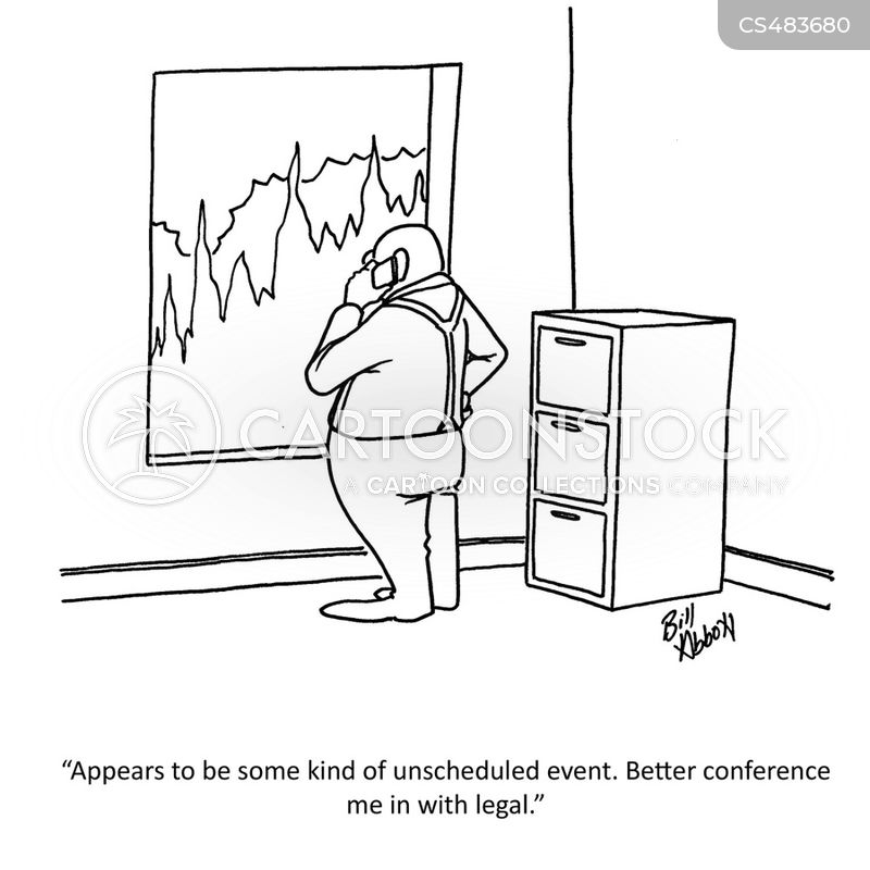 crises management cartoon