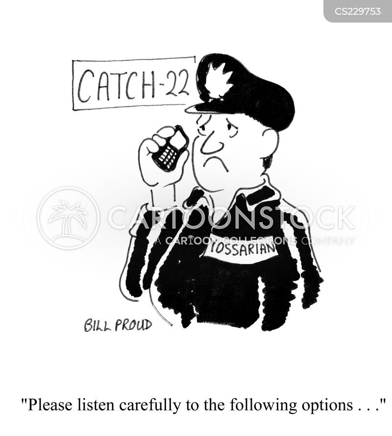 catch 22 cartoon