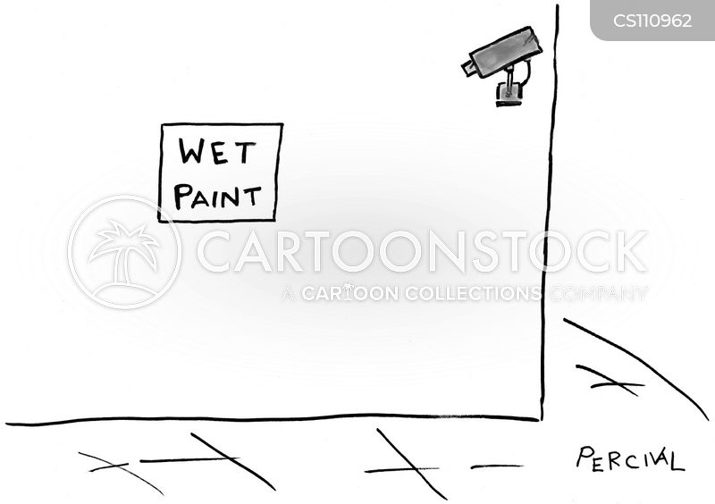 wet paints cartoon