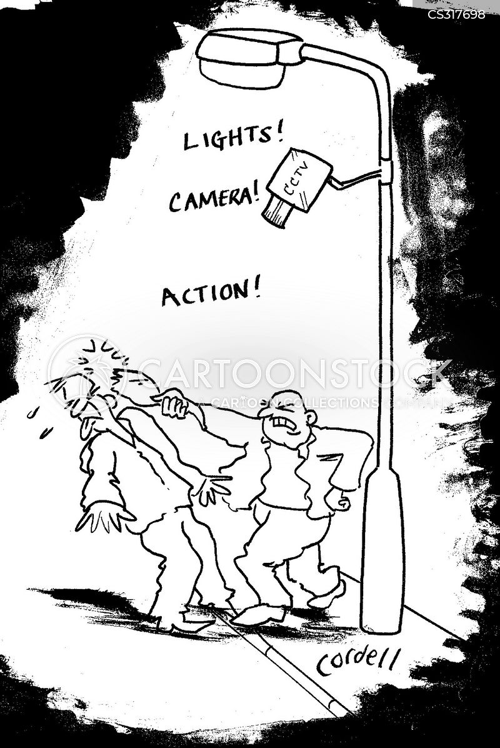 street light cartoon