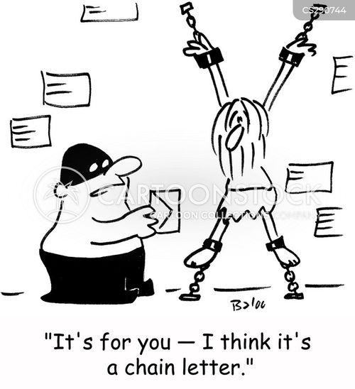 chain letter cartoon