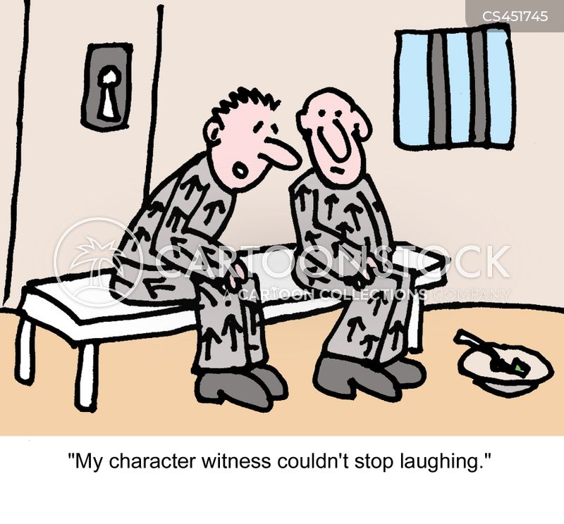 character witnesses cartoon