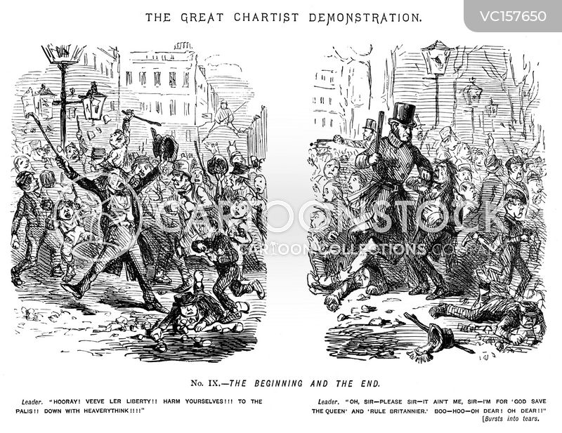 The Great Chartist Demonstration cartoons, The Great Chartist Demonstration cartoon, funny, The Great Chartist Demonstration picture, The Great Chartist Demonstration pictures, The Great Chartist Demonstration image, The Great Chartist Demonstration images, The Great Chartist Demonstration illustration, The Great Chartist Demonstration illustrations