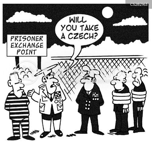 prisoner of war cartoon