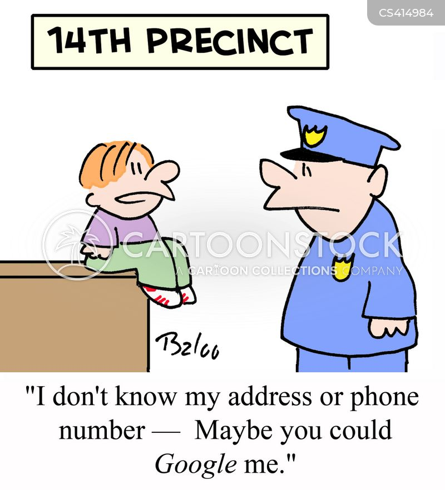 precinct cartoon
