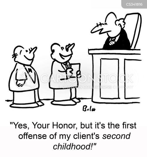 first offence cartoon